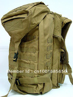 Wholesale Tactical Molle Rifle Gear Combo Backpack Coyote Brown