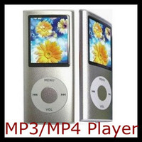 Wholesale 1 inch MP3 MP4 Player LCD Screen Slim New Colorful FM Ebook