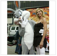 Mascot Costumes Men Free Size Bugs Bunny Costumes Mascot Adult Cartoon Mascot Performance Cute Cartoon Rabbit character Mascot