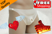 Best hot sale 10pcs $69 latex shorts penis sex Extra Safe hole underwear brief
