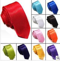 Wholesale Man necktie Silk Men ties Glitter Necktie Narrow cm men s ties Casual Shining
