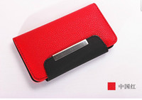 Leather For Apple iPhone  Brand new Mobile Phone Protection Case mobile wallet for iphone5