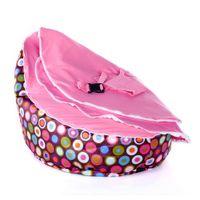 Wholesale pattern base baby seat retail baby bed doomoo seat bean bag baby bean bag