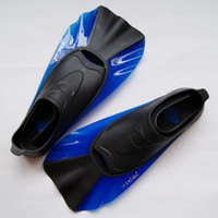 Wholesale Swimming topis fins submersible short fins snorkel supplies submersible