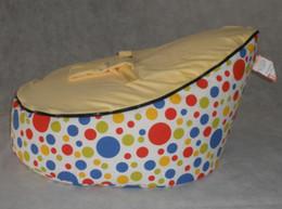 Wholesale new pattern base baby bean bag doomoo seat baby bean bag chair
