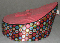 Wholesale pattern base baby seat baby bed doomoo seat bean bag baby bean bag