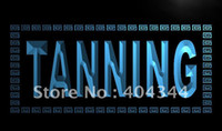 Wholesale LK285 TM Tanning Shop Sun Lotion NEW Neon Light Sign Advertising led panel