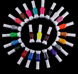 Wholesale Nail Art Colors Two Way Nail Polish Nail Brush Dropshipping HB936