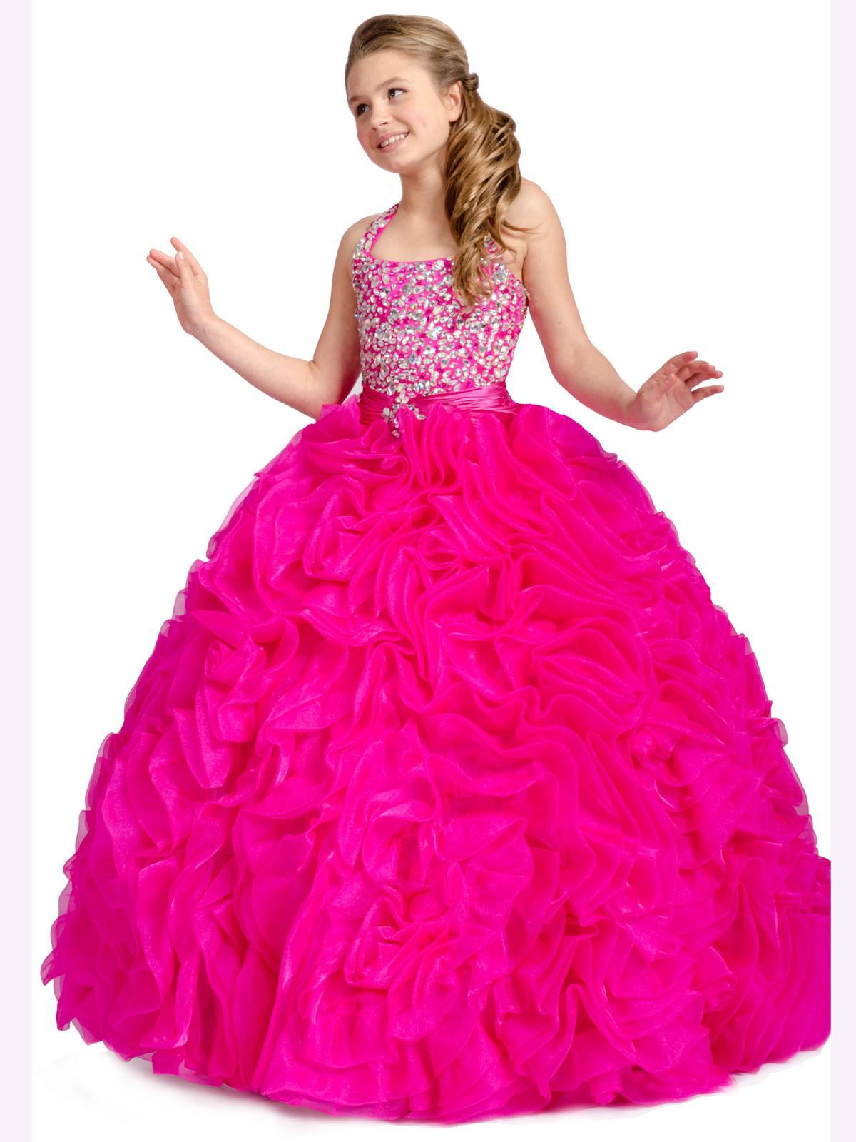Images of Pink Sparkly Dress - Reikian