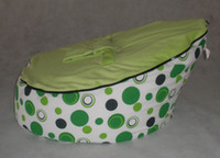 Wholesale green spot baby bean bag doomoo seat