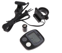Wholesale Multifunction Waterproof Bike Bicycle Cycle Computer Speedometer Bike Odometer Electric Odometer