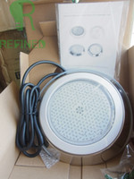 Wholesale Fresh salt water stainess Resin filled led swimming pool lights lamps led W White color