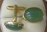 Wholesale Beautiful fashion jade man s cuff button