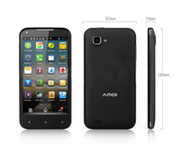 Wholesale Amoi N828 Android Phone MTK6589 QUAD CORE G RAM G ROM IPS Android Dural SIM Card MP inch