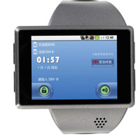 Wholesale New Arrival Z1 Android Watch Smart Mobile Phone MP Carema GPS WIFI Flytouch Capacitive Screen
