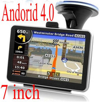 Wholesale 7 Inch Car GPS Navigation System AV IN input Wifi FM DDR3 GB Support P Video Android4 OS Sale