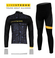 Wholesale Pro team livestrong winter thermal cycling jersey pants4172 Drop shipping is Supported