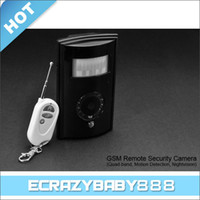 Wholesale High Quality Quad Band GSM Remote Security Camera Motion Detection Nightvision