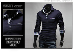 Wholesale 2013 NEW HOT Fashion Men Stylish Casual V Neck Short sleeve Slim T shirt