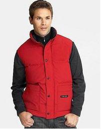 Wholesale Canada Hot sell men s vests Outwear down vest men s down vests outdoor clothing