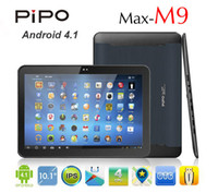 Wholesale Pipo M9 Build in G quot IPS Screen Tablet PC RK3188 GHz Quad Core Bluetooth GB GB Android Free DHL