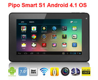 "Resistance Screen PIPO 800x480 Pipo Smart S1 7"" Tablet PC Rockchip RK3066 Dual Core 1.6GHz Android 4.1 OS WiFi Via China Post"