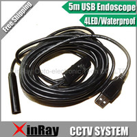 Wholesale New Arrival Mini USB Waterproof Endoscope Borescope Snake Inspection Camera M mm Lens XR IC51