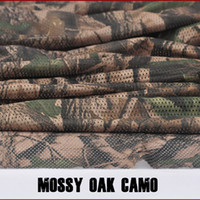 Wholesale Mossy Oak Camouflage Army Military Hunting Hunt quot W Camo Mesh Breathable Fabric