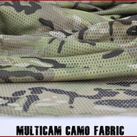 Wholesale Multicam Pattern Camouflage Army Military quot W Camo Mesh Breathable Fabric