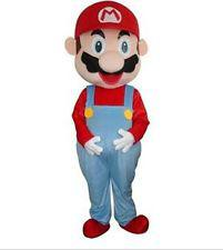 Wholesale Super Mario Costume Make - Hot Sale Super Mario Mascot Costume Fancy Party dress Adult Size Halloween