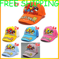 Wholesale New Baby Bird Style Baseball Cap Children Adjustable Top Sun Hat Kids Fashion Sports Mesh Cap