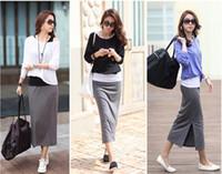 Cotton Round Knee Length 2013 fashion women's casual full dress long-sleeve female three piece set skirt one-piece dress