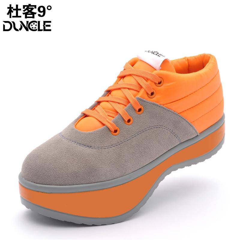 H10 After the negative heel female genuine leather cervical vertebra lose weight shoes slimming shoes
