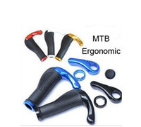 Wholesale Bicycle Handlebar Cycling Grips Mountain Bike Stem Bar End MTB Ergonomic Bike BMX Parts Accessories