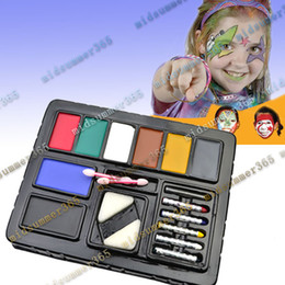 Wholesale 20 Fun Face Paint Ultimate Party Cosplay PACK KIT Painting Make up Set