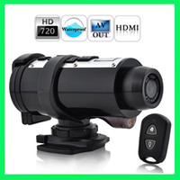 Wholesale 720p Waterproof HD Digital Video Camera P HD Sports Action Video Camera with Remote Control HT