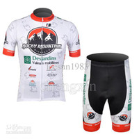 Wholesale 2012 ROCKY MOUNTAIN TEAM WHITE CYCLING WEAR SHORT SLEEVE CYCLING JERSEY SHORT SET SIZE XS XL
