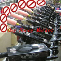 Wholesale 2013 best price the Adjustable speed mute sex machine gun sex toys for women Masturbation machine