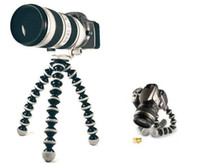 Wholesale Mini Flexible Octopus Tripod Stand Holder for Digital Camera Canon Nikon Sony