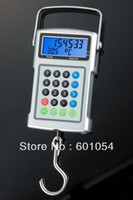 Digital scale 10kg-100kg  20PCS 50kg 20g 25kg 10g Digital Fishing Scale Hanging Scale Hook Scale Lage Scale ,Valuation Function, Automatic Weighing Locking - DHL