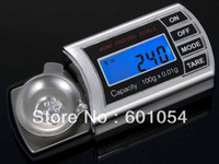 Wholesale 20PCS g g g g High Accuracy Digital Mini Pocket Jewellery Scale Balance DHL