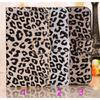 LEOPARD LEATHER HOLDER Magnetic COVER For Samsung Galaxy S4 CASE i9500 WALLET