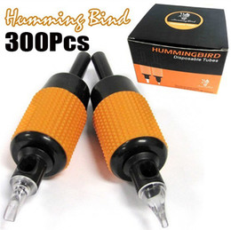 Wholesale Hot xTattoo Sterilized Tube Grips Humming Bird Assorted quot mm Tattooing Kits Supply Pro