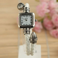 Wholesale New Fashion Wrist Watch Snake Leather with Beautiful Color