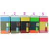For Samsung Galaxy S4 Flip wallet Color Three-tone Leather Card Slot with lanyards case DHL Ship