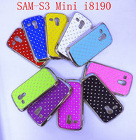 Cheap Leather Samsung SIII Mini Case Best For Samsung For Christmas Mini S3 Star Leather Case