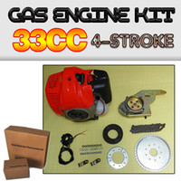 Wholesale DIY Electric Bike CC Stroke Gas Motorized Bicycle Engine Kit