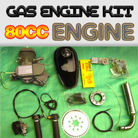 bicycle engine - 80CC Gas Motorized Stroke Bicycle Engine Kit stroke cc moped bicycle engine kit