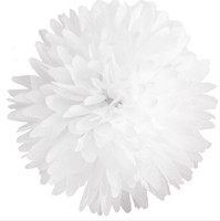 Wholesale Decorative Flowers amp Wreaths white quot cm ball Tissue Paper Pom Poms Colorful tissue paper flower wedding