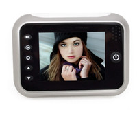 "Wired yes (tf card not included)  Free shipping Digital Peephole Door Viewer +take photo +3.5"" LCD High Definition Color Screen"